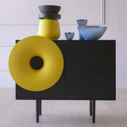 Cabinet Sound System | Black & Yellow