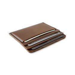 Cascade Wallet | Bark Horween Chromexcel Leather