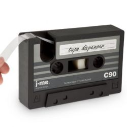 Tape Dispenser + Tape | Black