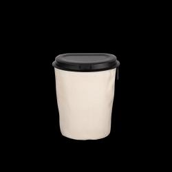 Flextrash Mülleimer 3 L | Creme