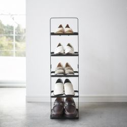 Shoe Rack Small Tower | Black