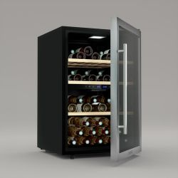 Weinkeller Dual Zone 62 Flaschen