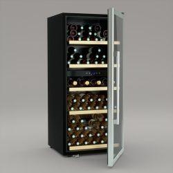 Weinkeller Dual Zone 91 Flaschen