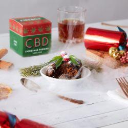 Pudding de Noël CBD