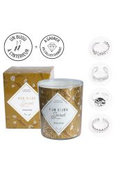 Candle with Silver Ring | Patchouli