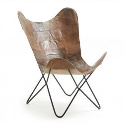 Lounge Chair | Dunkelbraun