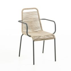 Glenville Armchair | Light Brown