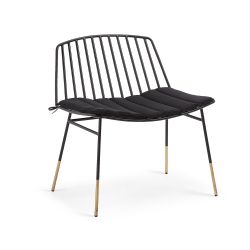 Armchair Bologna | Black