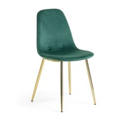 Chair Yara | Green & Gold