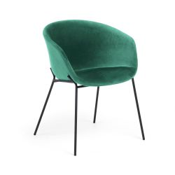 Chair Vic | Dark Green Velvet