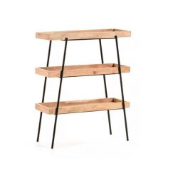 Shelving Unit Small Basi | Light Wood