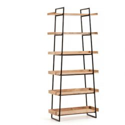 Shelving Unit Large Basi | Light Wood