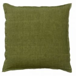 Cushion Cover Linen 60x60 cm | Olive