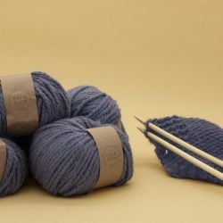 Wolldecken-Strickset | Calm Club Comfort Blanket