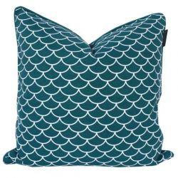 Kuala Lumpur Cushion Cover 50 x 50 cm | Peacock