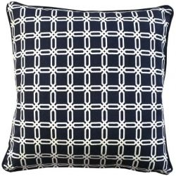 Singapore Cushion Cover 50 x 50 cm | Navy Blue