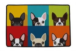 Multifunctional Rug Which Frenchie