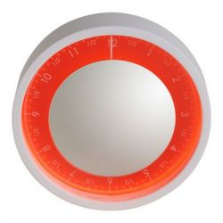 Solo Ora Wall Clock Red