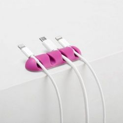 Cable Drop Multi 2-pack | Bright Pink