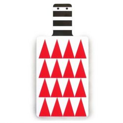 Cutting Board | Red Triangles