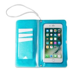 Splash Wallet / Phone Holder | Blue