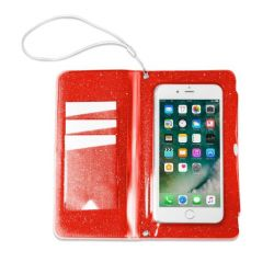 Splash Wallet / Phone Holder | Red