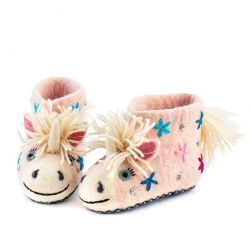 Children's Slippers Céleste the Unicorn | Pink