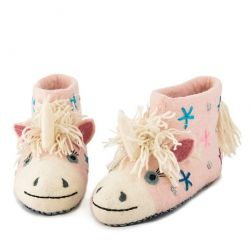 Adult Slippers Céleste the Unicorn | Pink