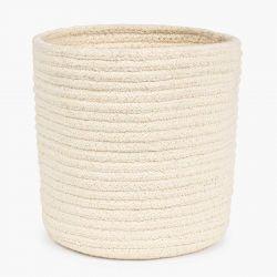 Basket Ayana Dia. 35x35 | Ecru