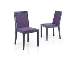 Chaise de Salle à Manger Arstadal Set de 2 | Pourpre