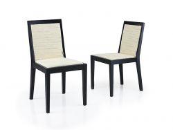 Chaise de Salle à Manger Arstadal Set de 2 | Blanc