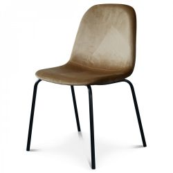 Chair Felix Velvet | Kraft Brown