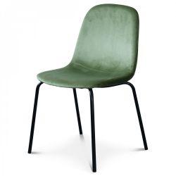 Chaise Felix Velours | Vert Olive