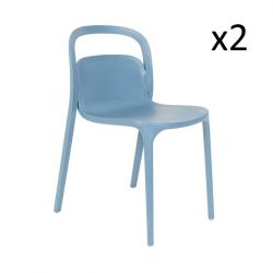 Chair Rex - Set of 2 | Blue