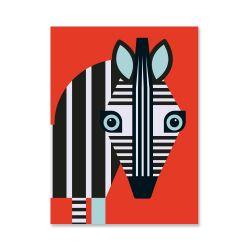 Plakat | Zebra