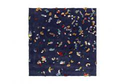 Teppich Chaos | Blau