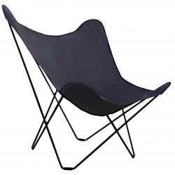 Outdoor Butterfly Chair Sunbrella | Graphite