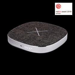 Power Bank & Wireless Qi Charger CHARGEit | Grey