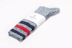 Men Socks Ash | Blue