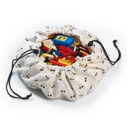 Mini Toy Storage Bag | Cherry Gold