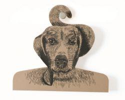 Kleerhanger Hond