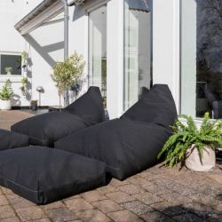 Outdoor Lounge Set Chill Out Terrace | Graphite