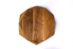 Cutting Board Teak Star Large
