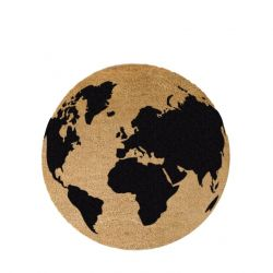 Circle Doormat | Globe Black