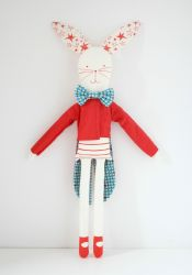 Circus Rabbit Red
