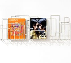 City Sunday Magazine Rack White