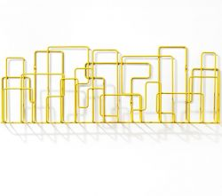 City Sunday Magazine Rack Yellow