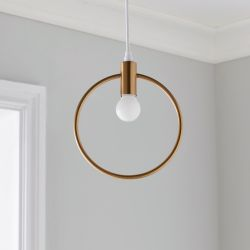 Suspension Lunaire | Or