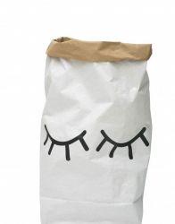 Paper Storage Bag | Closed Eyes