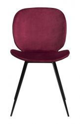 Chair Cloud Velvet | Ruby